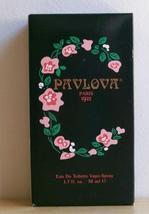Vintage Pavlova Paris 1922 Eau De Toilette Spray 1.7 Fl Oz Edt Nib - $1.25