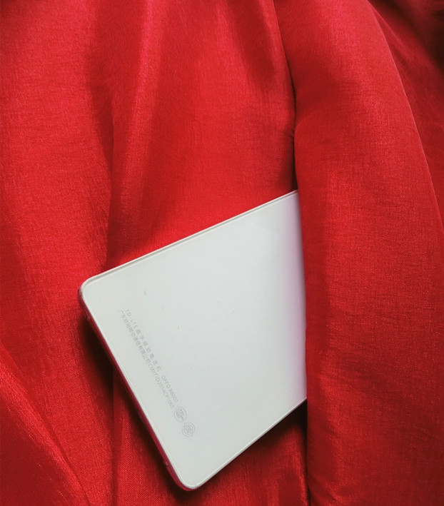 Women Red Black A-line Pleated Taffeta Skirt Ruffle Plus Size Pleated Skirt