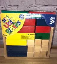 Guidecraft Mini Unit Collection #3072 Building Blocks  - $10.00