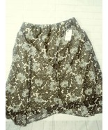 Women's Worthington size large skirt floral print - $19.99