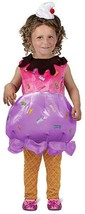 Princess Paradise Ice Cream Sundae Sprinkles Kids Toddler Halloween Cost... - $24.99