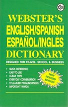 Webster's English/Spanish Espanol/Ingles Dictionary (New Revised edition) [Paper