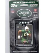 New York Jets Topps  2008 Team Set  NFL Football Cards - $3.00