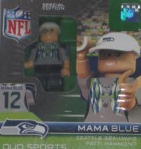 NFL Seattle Seahawks Mama Blue Patti Hammond  12 Fan Mini Figure   BRAND NEW! - $5.95
