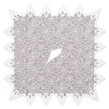 """Heritage Lace Halloween Ghost Poncho Costume  58"""" x 58"""", Spider Webs wit... - $37.47"""