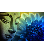 Buddha Peace Zen Home Decor Canvas Print. Framed or Unframed - $5.60+