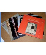 Sergio Franchi Album Lot Of 8 Phonograph Records - $39.99