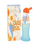 I Love Love by Moschino Eau De Toilette Spray 1.7 oz for Women #420013 - $31.52