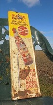 Sundrop Diet Cola Thermometer Sugar Free Good Vintage Advertising Metal ... - $159.00