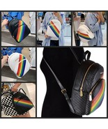 NWT Michael Kors Abbey Backpack Rainbow  Pride Limited Edition $488 - $139.99