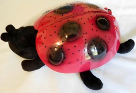 BABY Cloud B Twilight Lady Bug Constellation Projection Night Light Red Black (T - $14.99
