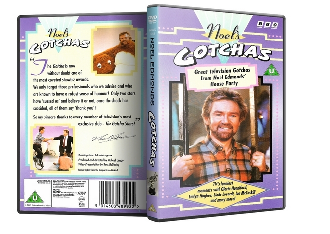 Primary image for BBC DVD - Noel Edmonds Gotchas DVD