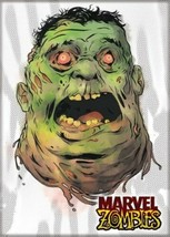 Marvel Zombies The Incredible Hulk Head Art Image Refrigerator Magnet NE... - $3.99