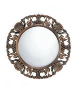 """Cool House Mirror 19"""" x 19"""" Round Antique Look Decorative Wall Hall Bath... - $85.84"""