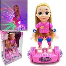 Blonde Doll on Hover Scooter w/ Flashing Strobe Lights & Music (Pack of ... - $69.25