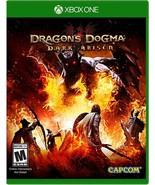 New! Dragon's Dogma: Dark Arisen Xbox One Free Shipping RPG Role Playing - $34.64