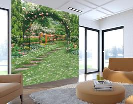 3D Grüne teppiche und blumen Fototapeten Wandbild Fototapete BildTapete Familie - $51.18+