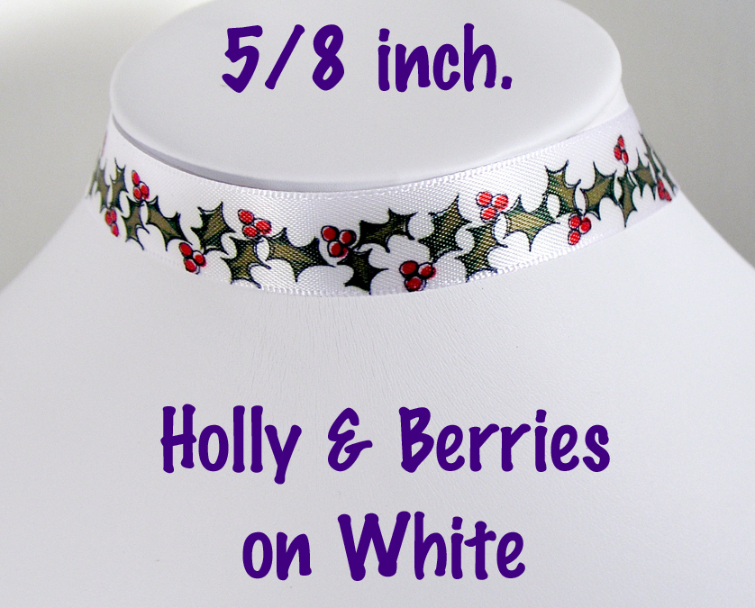 Ribbon hollyberries