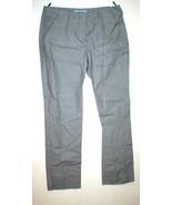 New Womens Designer Prada Milano Pants 38 2 Crop Gray White Slacks Trous... - $450.00