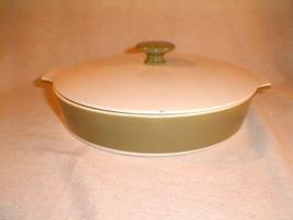"Corning Ware avocado skillet casserole sauce pan w/ lid 10"" P-710-B - $35.00"