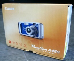 CANON PowerShot A460 4x Zoom 5MP Digital CAMERA with Contents Box - $49.99