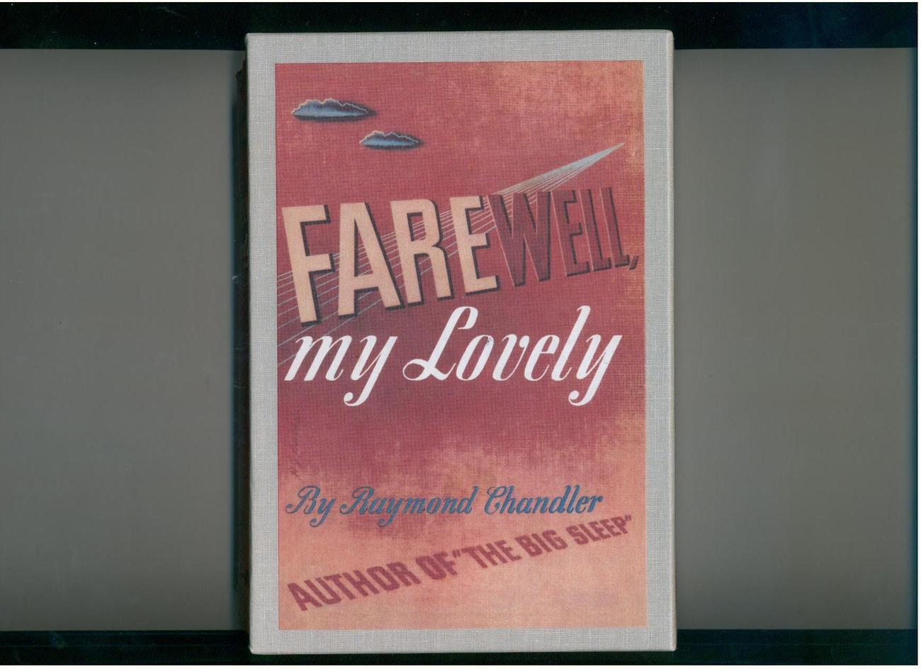 Primary image for Raymond Chandler Farewell, My Lovely 1967  facsimile edition in dj & slipcase