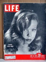 Life Magazine June 26, 1950 Actress Cecile Aubry - $17.99