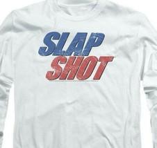 Slap Shot Retro 70s American comedy graphic t-shirt long sleeve UNI960 image 2