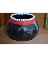 handmade ceramic small holder - $18.00