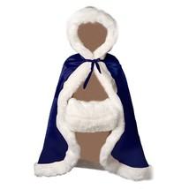 BEAUTELICATE Flower Girl Cape Winter Wedding Cloak for Infant Junior Bri... - $77.18