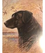 BLACK LABRADOR Dog Ducks Ruane Manning 2000 8x10 Print Picture Wall Art ... - $9.99