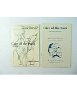 Care of the Back 3rd & 2nd Edition by William Ishmael, Howard Shrobe 198... - $12.00