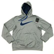 Nuovo Nike Therma- Fit Pullover con Cappuccio Taglia Media M Felpa Swoosh - $37.68