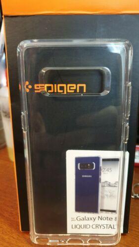 Spigen® Samsung Galaxy Note 8 [Liquid Crystal] Ultra Slim Clear Case TPU Cover image 2
