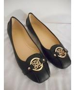 NIB Liz Claiborne Womens Size 8.5 M black slip on flats ballerina - $39.59