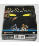 Lego Bionicle Quest for The Masks Card Game Deck 1 Gali/ Pohatu First E... - $24.95