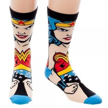 Wonder Woman DC Comics Adult 360 Crew Socks - $8.99