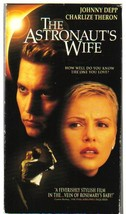 ASTRONAUT'S WIFE (vhs) Johhny Depp returns from space in a re-make of a ... - $4.99