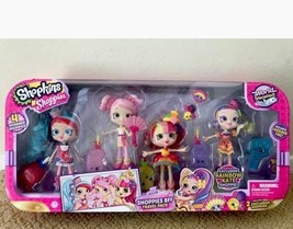 Shopkins Shoppies BFF Travel Pack 4 Shimmer Shoppies Exclusive Rainbow K... - $68.31