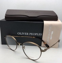 New Oliver Peoples Eyeglasses Watts Ov 1224T 5124 49-21 Titanium Antique Gold - $579.95