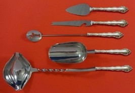 Feliciana By Wallace Sterling Silver Cocktail Serving Set 5-Pc HHWS Custom - $339.00