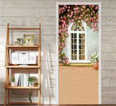 3D Blumen, Fenster Door Wall Mural Photo Wall Sticker Decal Wall AJ WALLPAPER DE - $73.11+