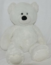 Ganz White Seventeen Inch Plush Teddy Bear Snowdrop HX11006 image 1