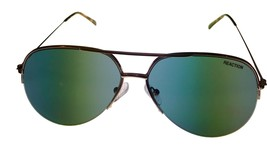 Kenneth Cole Reaction Mens Sunglass Gold Rimless Aviator, KC1307 32N image 2