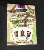 Sealed NIP Iraqi Most Wanted Playing Cards - Made in USA HOYLE Iraq War - $14.18