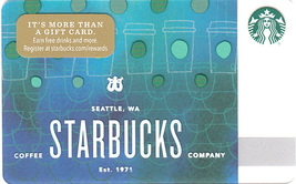 Starbucks 2017 Cup Scales Collectible Gift Card New No Value - $4.99