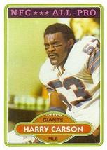 1980 Topps #135 Harry Carson AP - Football Card - $0.50