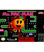 Ms Pac-Man SNES SUPER NINTENDO Video Game - $10.97