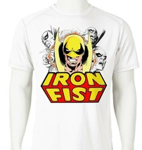 Iron Fist 2 Dri Fit T-shirt printed active wear retro comic UPF +50 Sun Shirt image 1