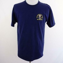 Presidential Flight Crew Air Force One Embroidered Navy Blue T Shirt Men... - $28.93